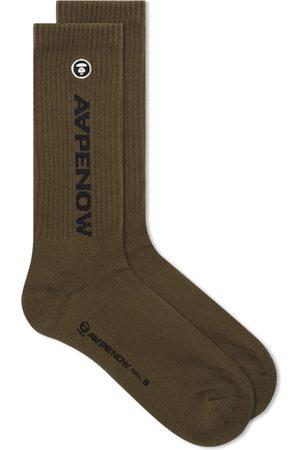 AAPE BY A BATHING APE Men Socks - AAPE One Point Sock