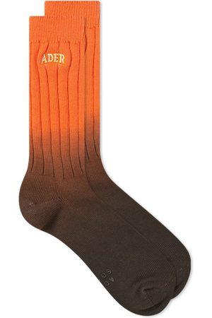 Ader Error Men Socks - Fade Logo Sock