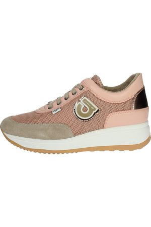 AGILE BY RUCOLINE Sneakers Women Face powder Camoscio/tessuto