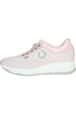 AGILE BY RUCOLINE Sneakers Women Rose Pelle
