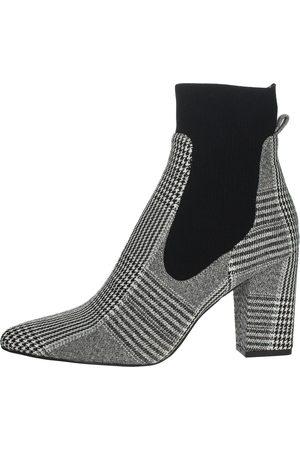 Steve Madden Boots Women Grey Microfibra