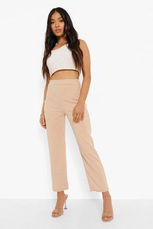 Boohoo Womens Petite Tailored Pants - - 2