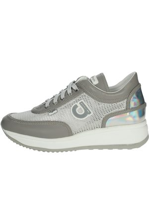 AGILE BY RUCOLINE Sneakers Women Grey Pelle/tessuto