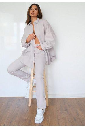 Missguided Co Ord Wrath Split Hem Straight Leg Jeans