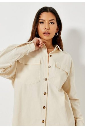 Missguided Women Tops - Tall Sand Co Ord Utility Top
