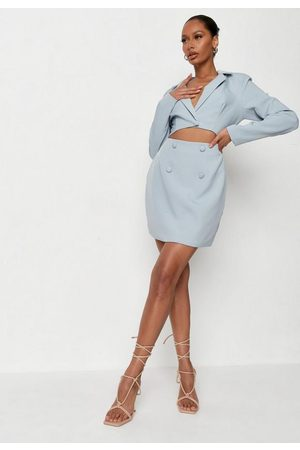 Missguided Cut Out Tailored Blazer Dress