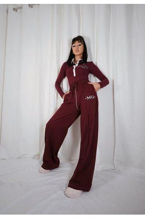 Missguided Women Sweatpants - Jordan Lipscombe X Tall Wide Leg Joggers