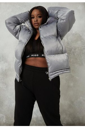 Missguided Plus Size Faux Fur Hooded Coat