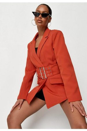 Missguided Co Ord Tailored Belted Blazer