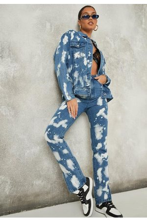 Missguided Co Ord Wrath Bleach Splatter Jeans