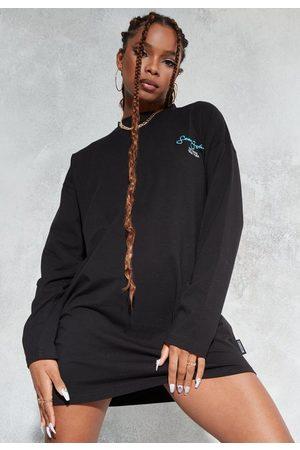 Missguided Women Casual Dresses - Sean John X Printed Oversized T Shirt Dress