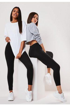 Missguided Tall 2 Pack Leggings