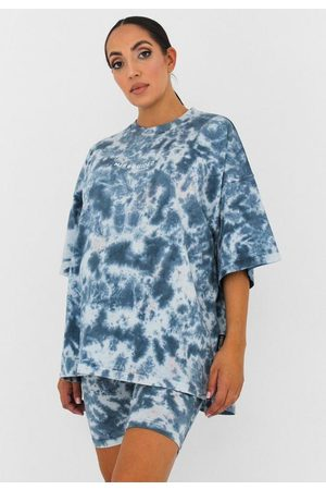 Missguided Co Ord Tie Dye Maternity T Shirt