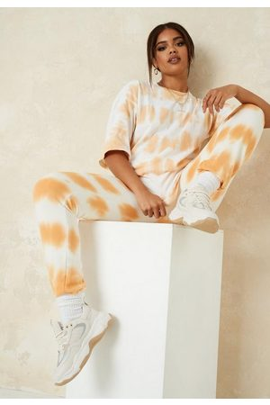 Missguided Tall Tie Dye Oversized T Shirt And Joggers Co Ord Set