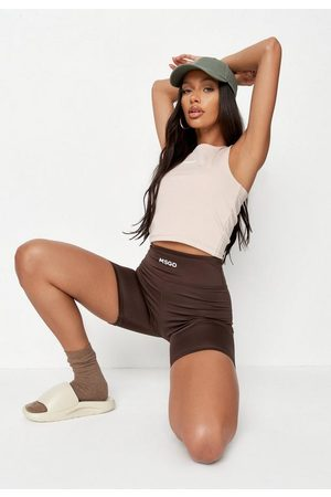 Missguided Recycled Msgd Racer Gym Tank Top