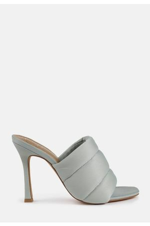 Missguided Sage Padded High Heel Mules
