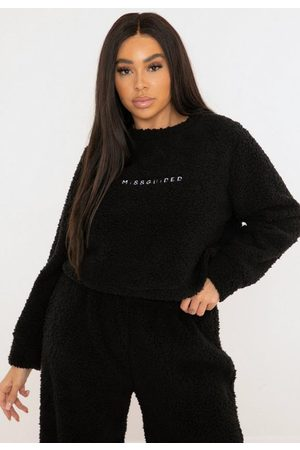Missguided Plus Size Borg Teddy Sweatshirt