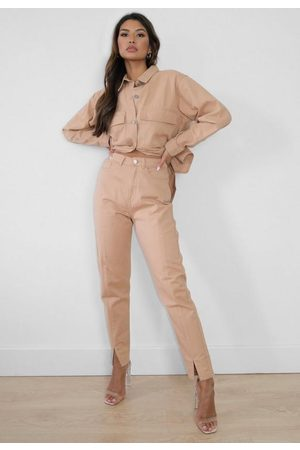Missguided Co Ord Denim Cargo Jeans