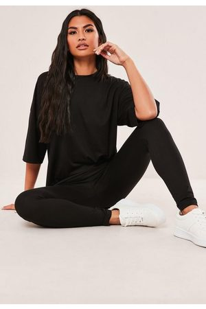 Missguided Tall Oversized T Shirt And Leggings Co Ord Set