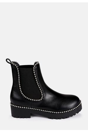 Missguided Women Chelsea Boots - Ball Trim Chelsea Boots