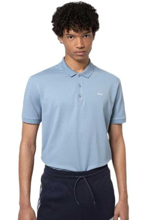 HUGO BOSS Men Polo Shirts - Donos212 L Medium Blue