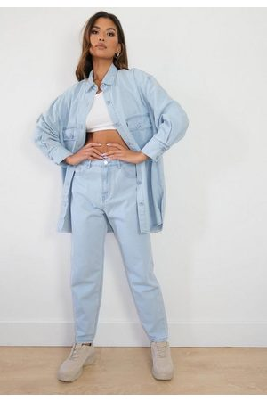Missguided Light Co Ord Wrath Jeans