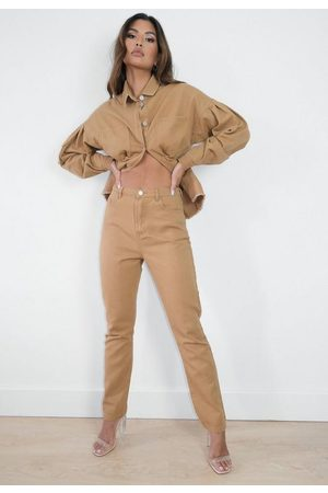 Missguided Mocha Co Ord Wrath Jeans