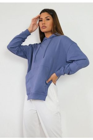 Missguided Brushed Back Corset Cut Asymmetric Hoodie