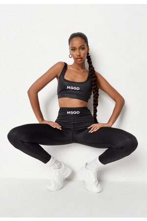 Missguided Recycled Msgd High Shine Sports Bra