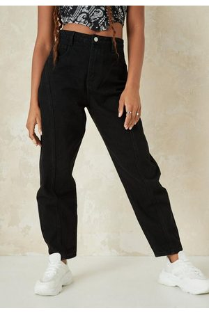 Missguided Petite Seam Tapered Leg Jeans