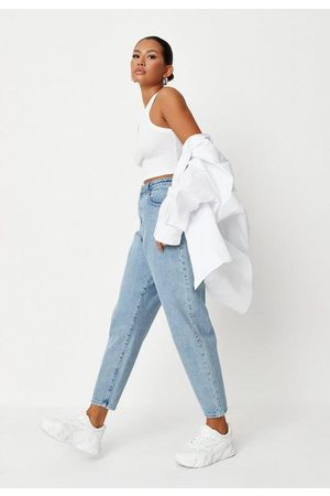 Missguided Super Wide Leg Tapered Jeans