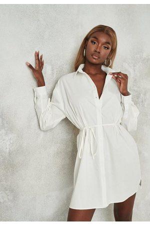 Missguided Women Casual Dresses - Tie Waist Shirt Dress