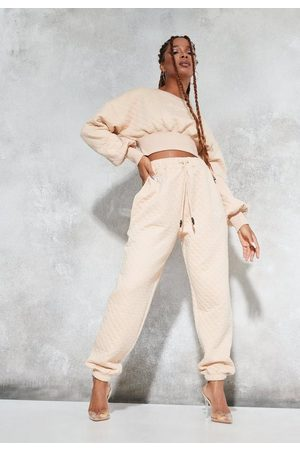 Missguided Sean John X Quilted Oversized Joggers