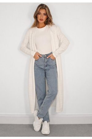 Missguided Women Cardigans - Textured Knit Midaxi Cardigan