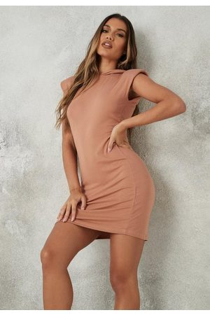 Missguided Hooded Mini Dress