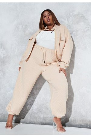 Missguided Sean John X Plus Size Quilted Oversized Joggers