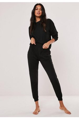 Missguided Petite Rib Soft Touch Loungewear Set