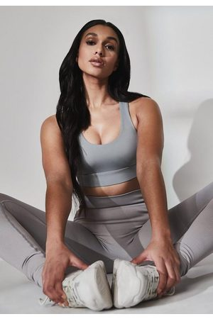 Missguided Recycled Gray Functional Sports Bra
