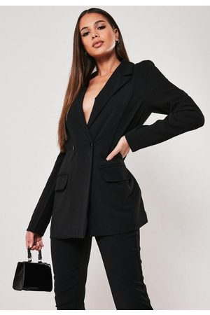 Missguided Tall Co Ord Relaxed Fit Long Blazer