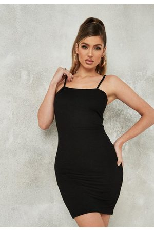 Missguided Strappy Scoop Neck Mini Dress