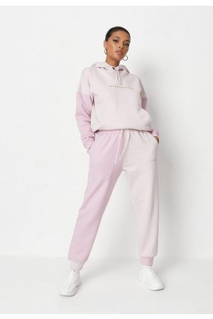 Missguided Petite Colorblock Joggers