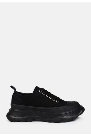 Missguided Chunky Canvas Sneakers