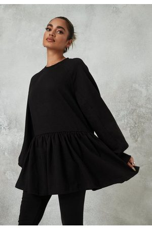 Missguided Petite Oversized Smock Sweatshirt