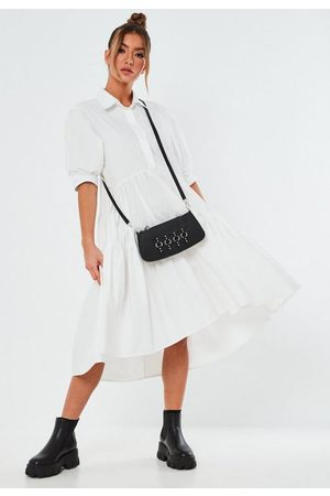 Missguided Extreme Oversized Smock Shirt Midaxi Dress