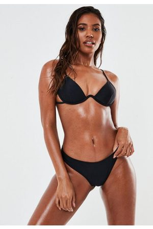Missguided Women Bikinis - Underwire U Tie Back Bikini Top