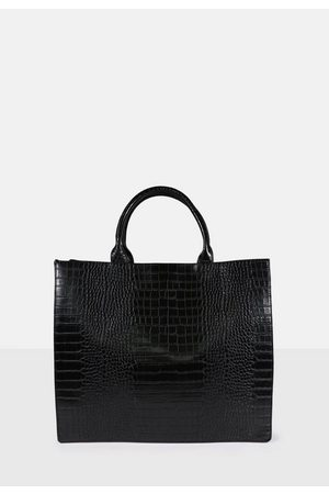 Missguided Croc Tote Bag