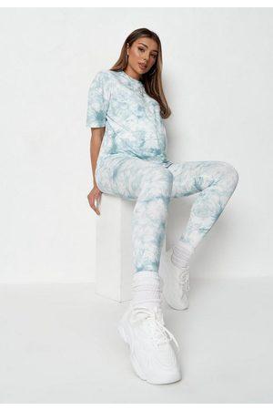 Missguided Co Ord Tie Dye Maternity Leggings