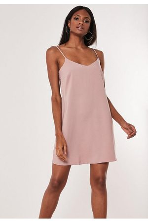 Missguided Crepe Cami Shift Dress