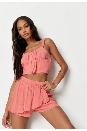 Missguided Frill Wrap Over Skort