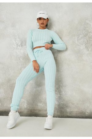 Missguided Co Ord Ribbed Knit Leggings